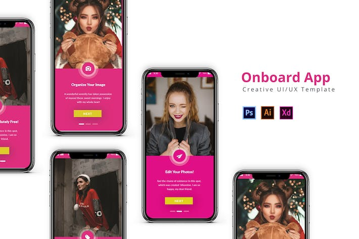 Thumbnail for Onboard App Design