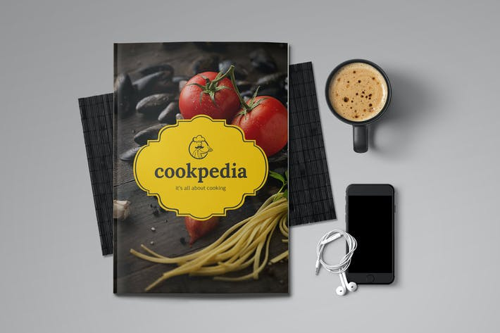 Thumbnail for Food Brochure Template