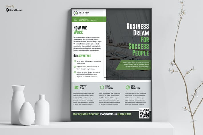 Thumbnail for Success - Corporate Poster