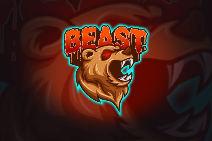 Thumbnail for Beast - Mascot & Esport Logo