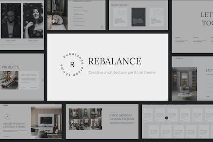 Rebalance - Architect & Interior portfolio theme