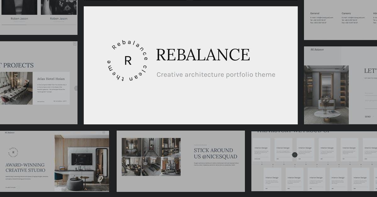 Download Rebalance - Architect Portfolio HTML5 Template by NiceSquadThemes
