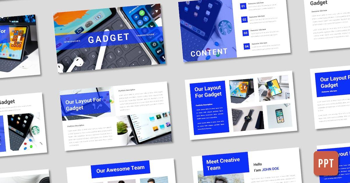 Download Gadget Presentation Template - (PPT) by deemakdaksinas