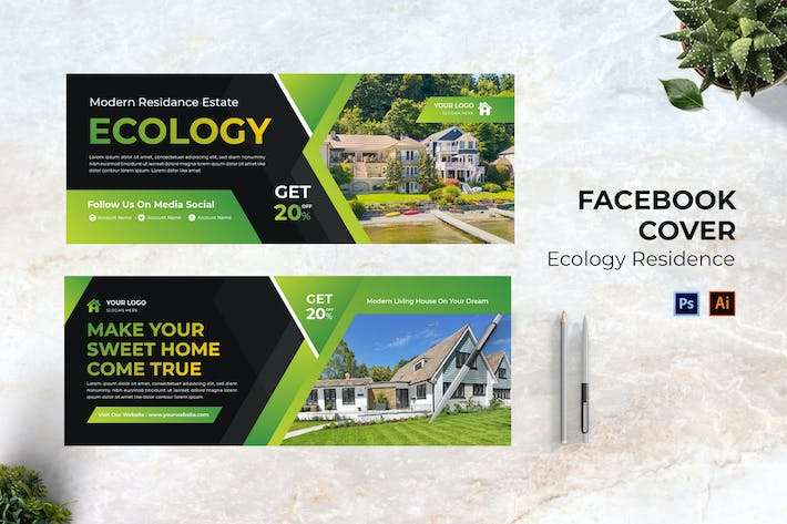Ecology Residence Facebook Cover