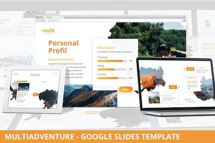 MultiAdventure - Google Slides Template