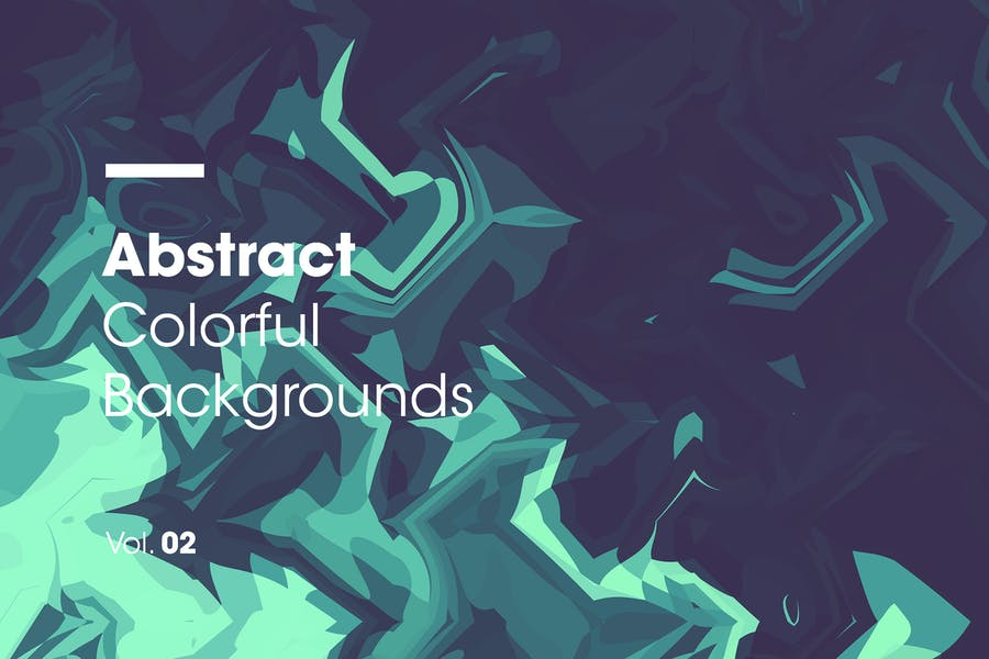 Abstract Colorful Spiral Backgrounds   Vol. 02