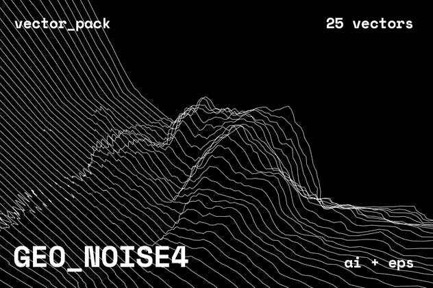 GEO_NOISE4 Vector Pack - product preview 15