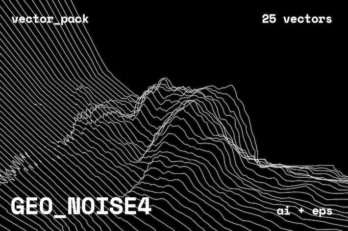 Thumbnail for GEO_NOISE4 Vector Pack