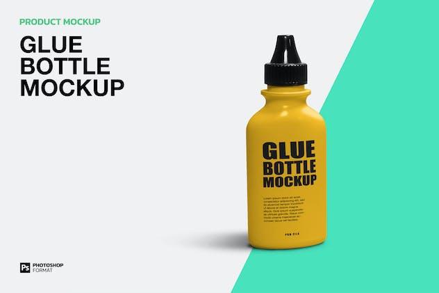 Glue Bottle - Mockup