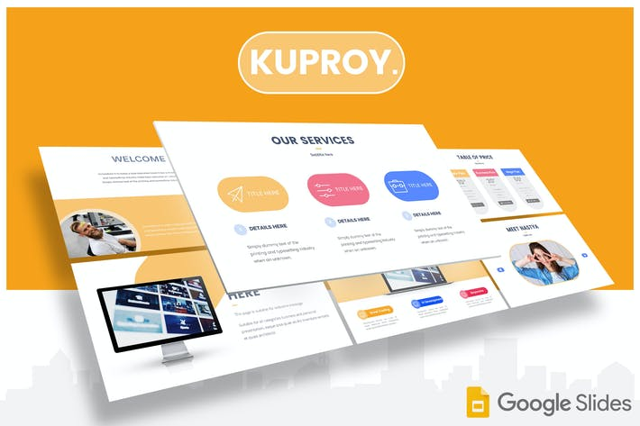 Thumbnail for Kuproy - Google Slides Template