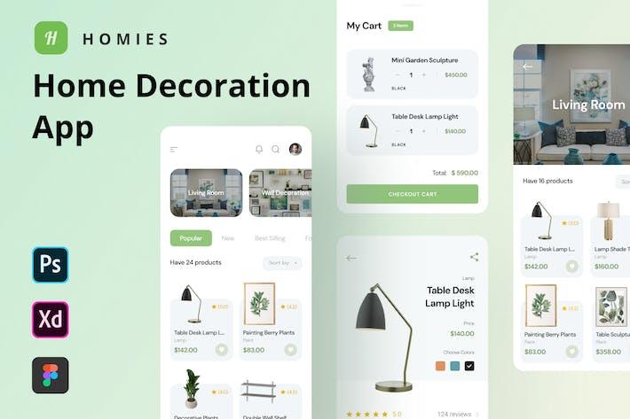 Homies - Home Decoration App