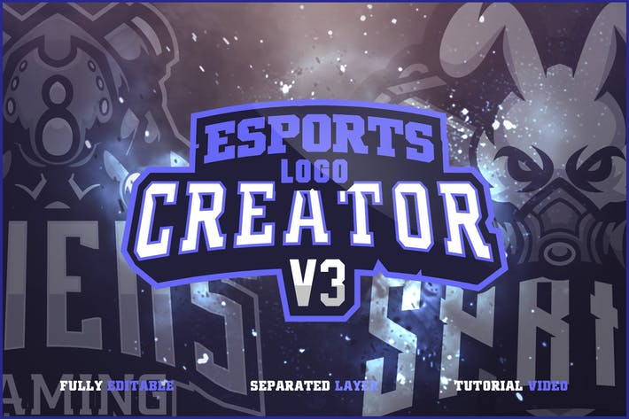 Cover Image For E SPORTS LOGO BUNDLE V3