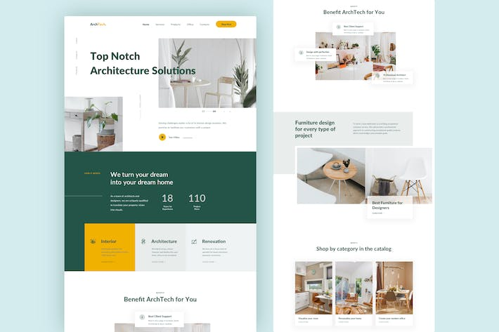 Thumbnail for Architecture Landing Page