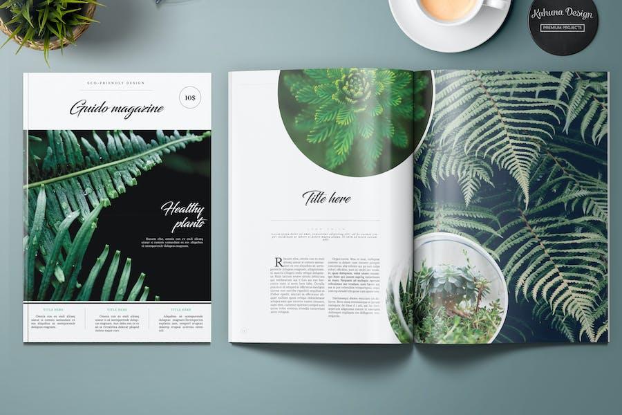 Guido Eco Garden Magazine