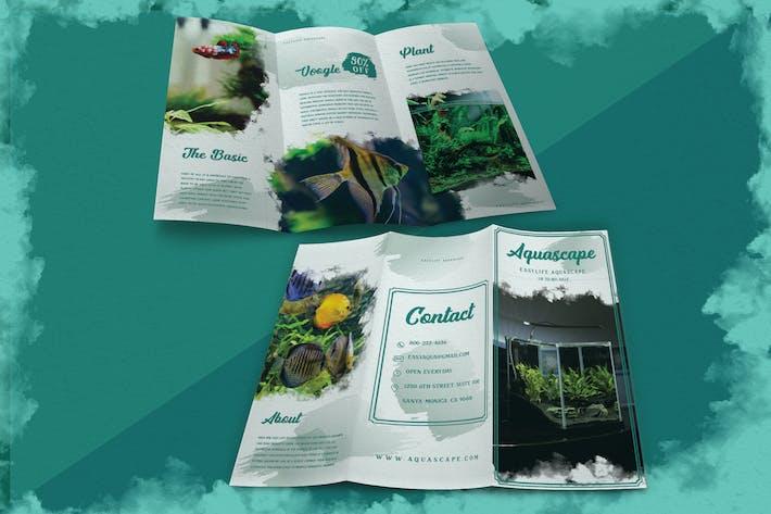 Thumbnail for Moderner Pinsel Aquascape - Broschüre