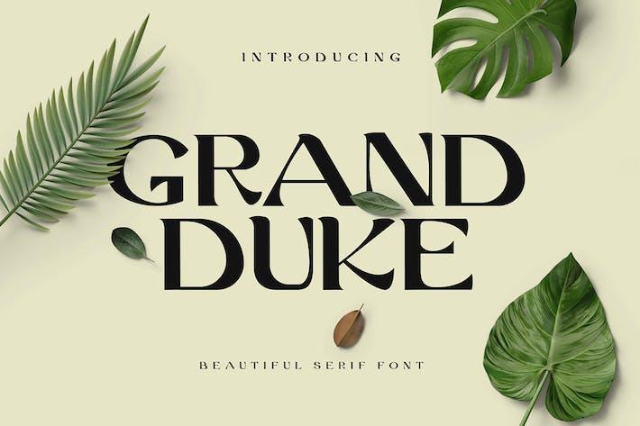 Thumbnail for Grand-Duke Beautiful Serif Police