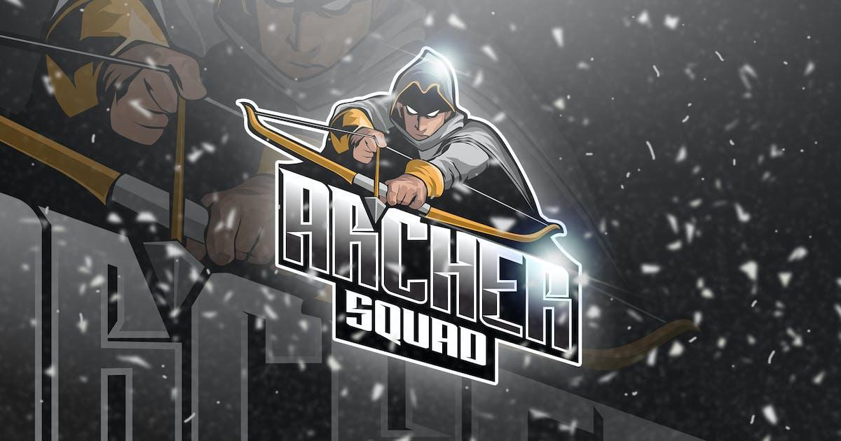 Archer - Mascot & Esport Logo by aqrstudio