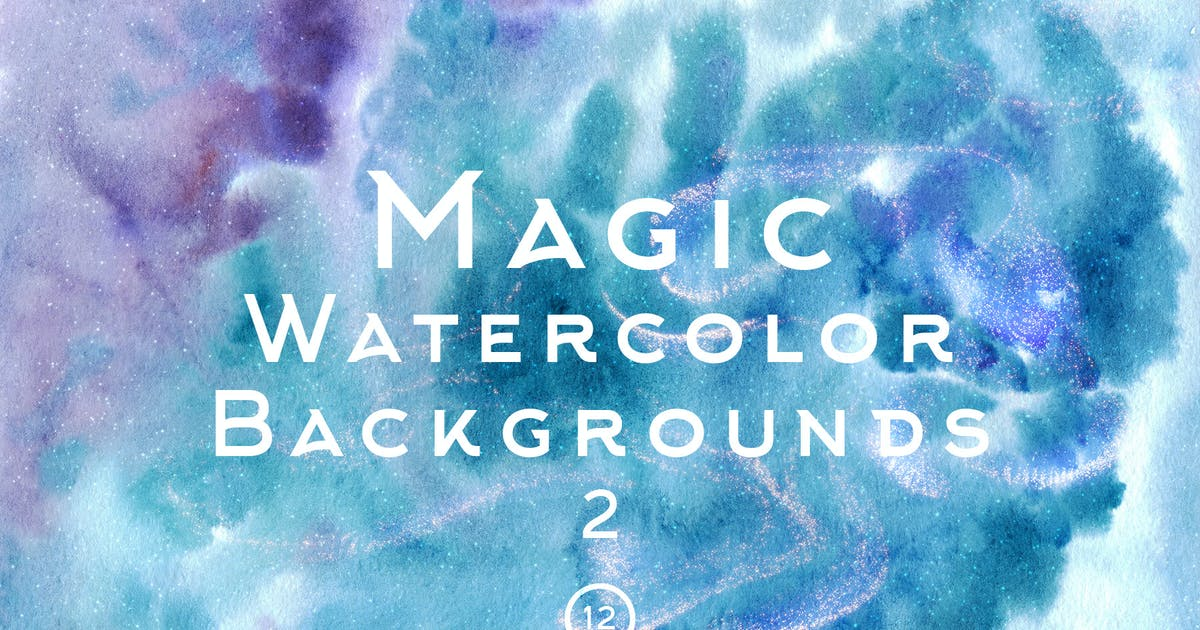 Download Magic Watercolor Backgrounds 2 by FreezeronMedia