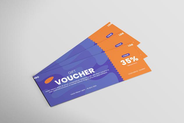 Simple Design - Voucher Design