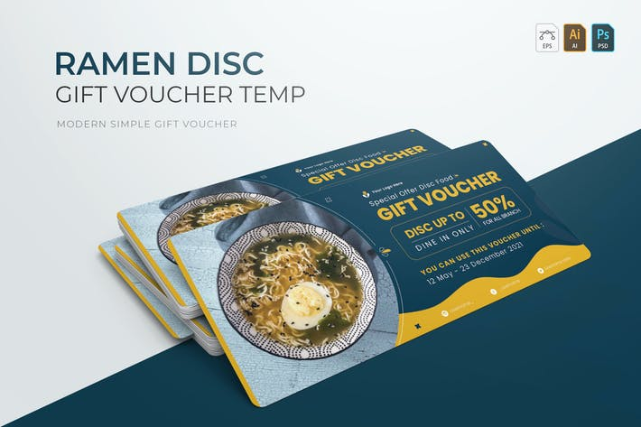 Ramen Disc | Gift Voucher
