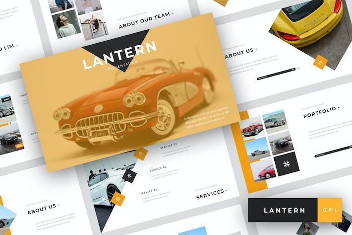 Thumbnail for Lantern - Car Dealership Google Slides Template