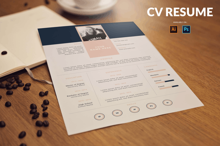 Thumbnail for CV Resume Simple