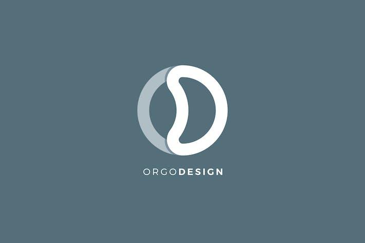 Thumbnail for OD Letter Logo Template