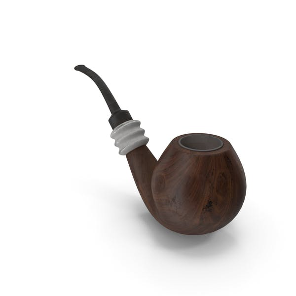 Smoking Pipe Walnut Dirty