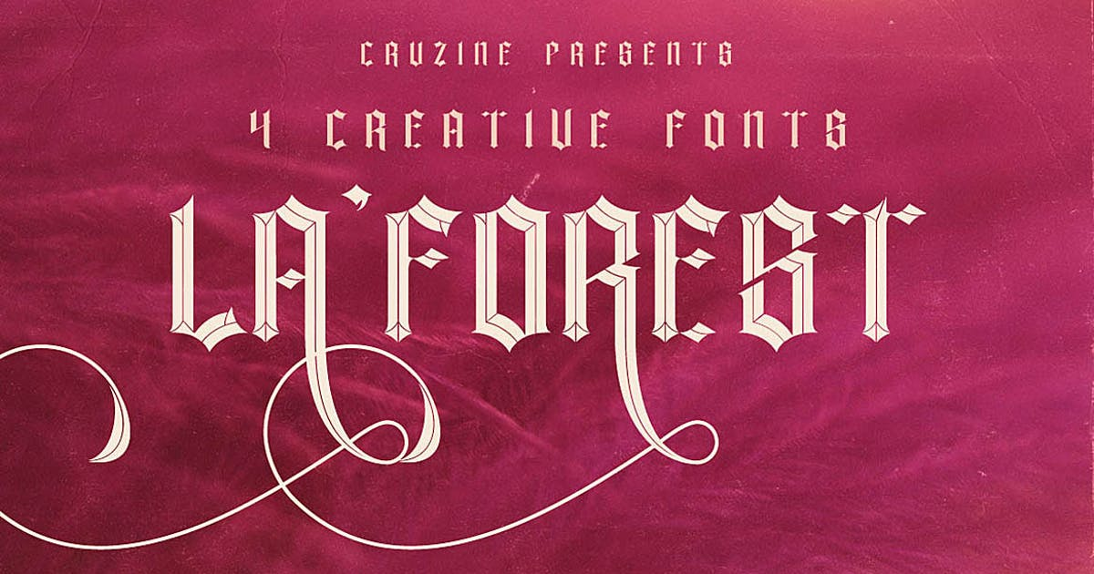 Download La Forest Typeface by cruzine