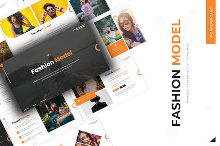 Fashion Model - Powerpoint Template