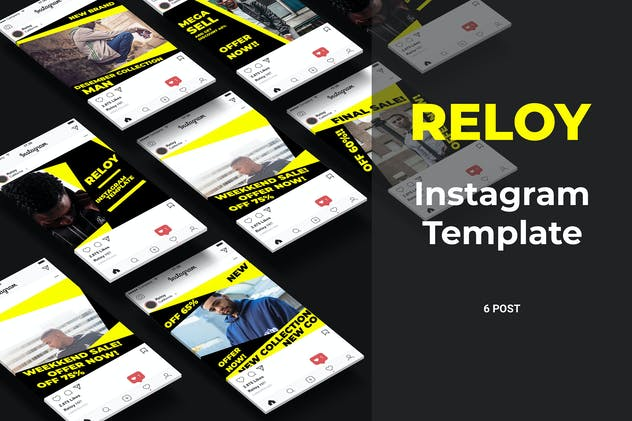 Reloy - Fashion Social Media Post Part 6