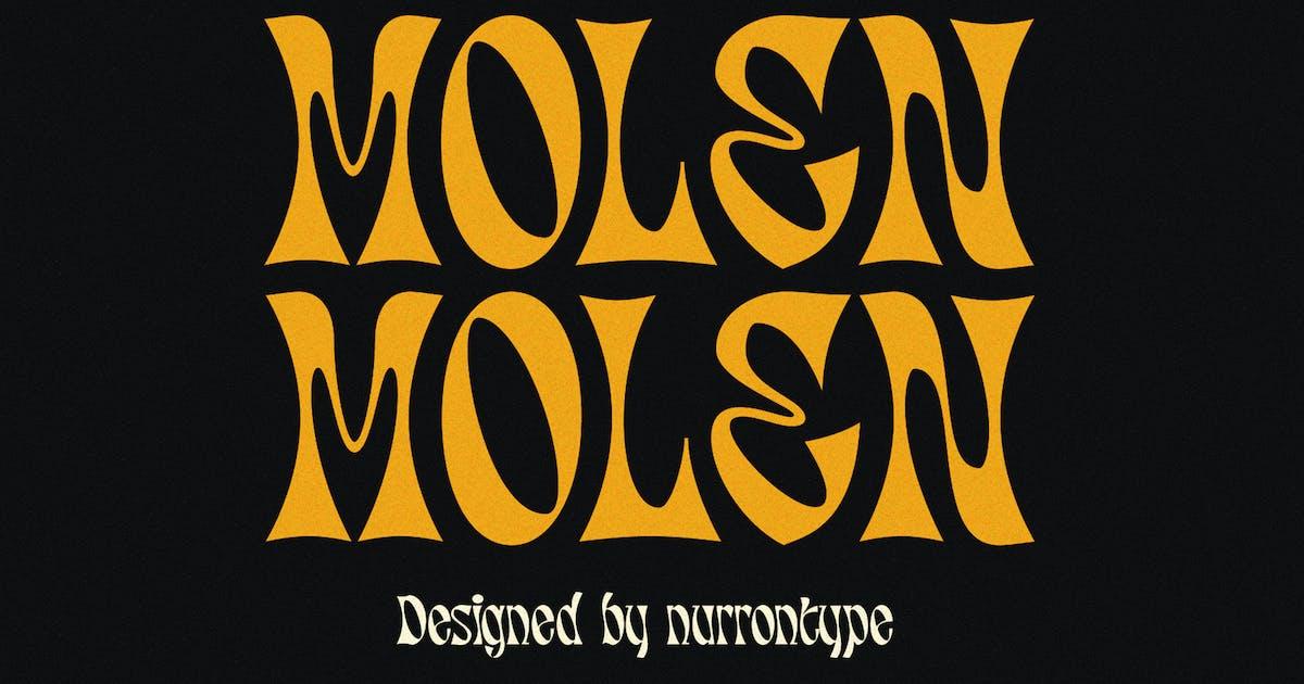 Download Molen Display Font by nurrontype