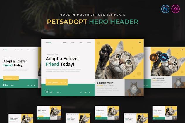 Petsadopt Hero Header