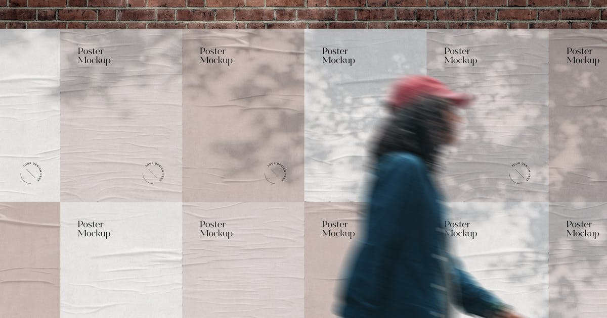 Download Street Posters Mockup by pixelbuddha_graphic