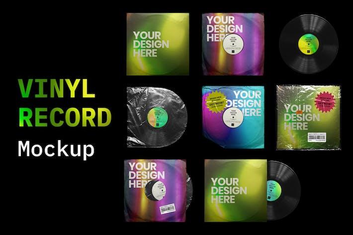 Thumbnail for Maquettes de disques vinyles