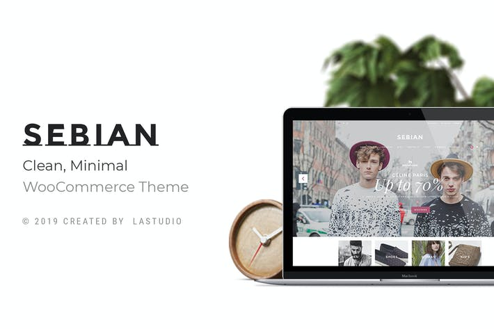 Thumbnail for Sebian - Multi-purpose WordPress WooCommerce Theme