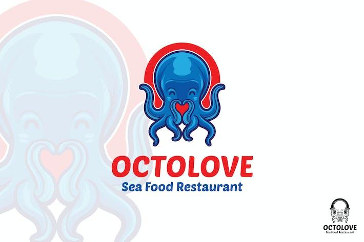 Thumbnail for Octopus Sea Food Restaurant Logo Mascot