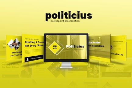 Politicius - Political Campaign Powerpoint