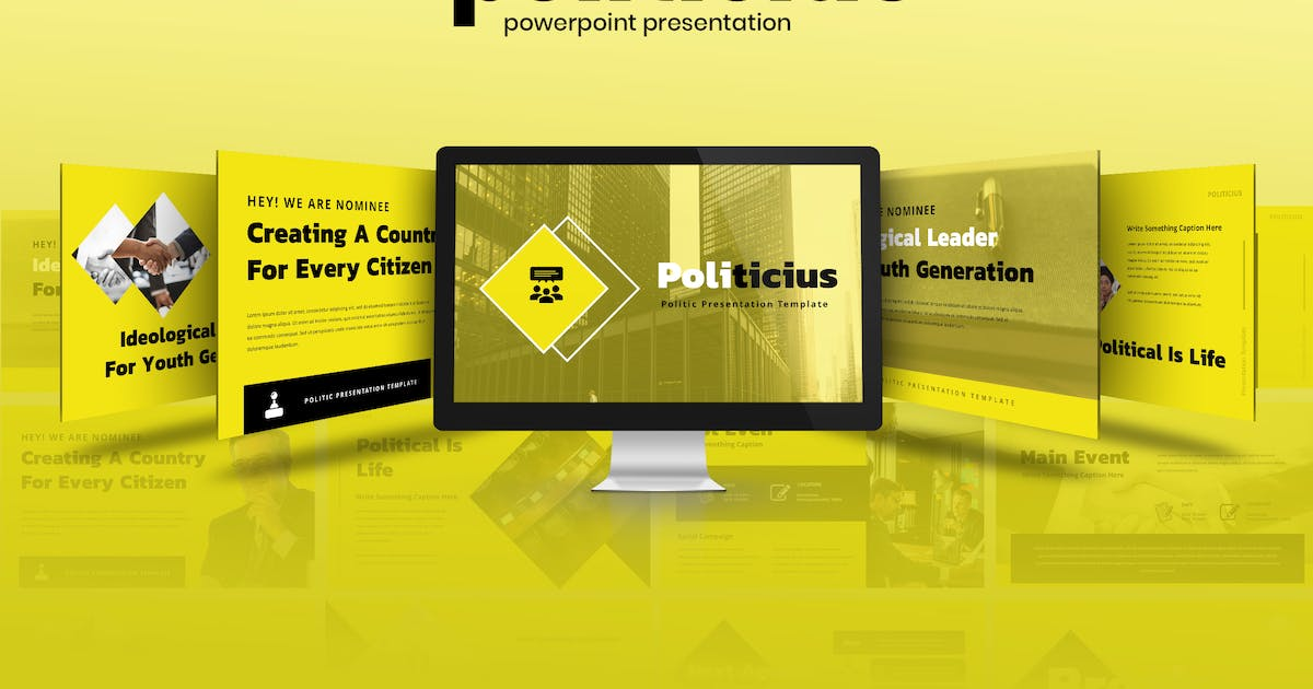Download Politicius - Political Campaign Powerpoint by TMint