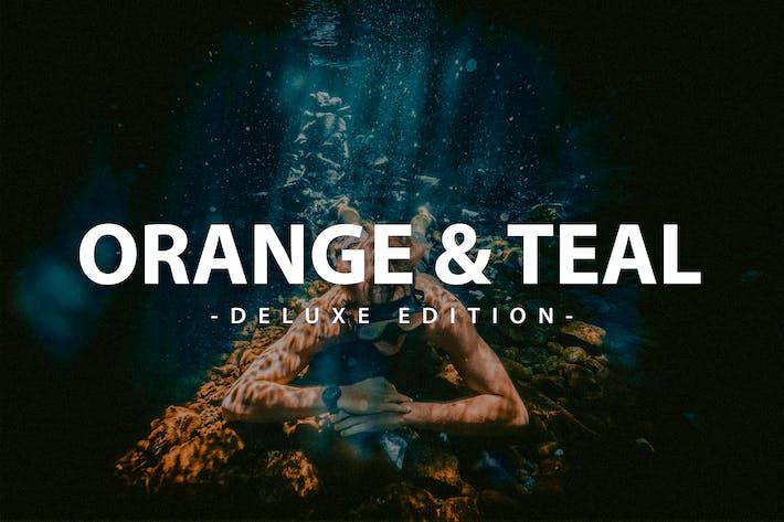 Thumbnail for Оранжевый и чайный| Для мобильных и настольных ПК