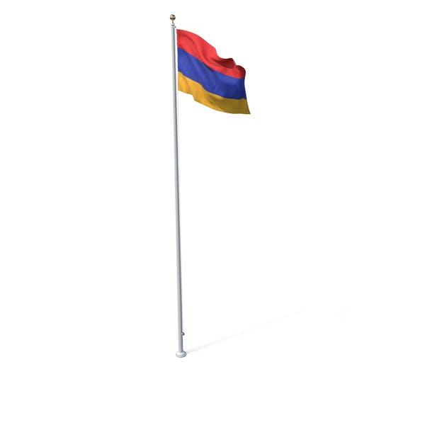 Thumbnail for Flag On Pole Armenia