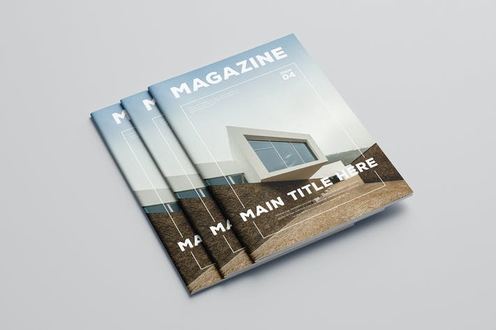 Thumbnail for Simple Minimal Architecture Magazine