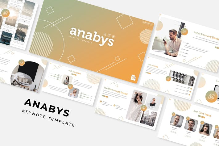 Thumbnail for Anabys - Plantilla de Keynote