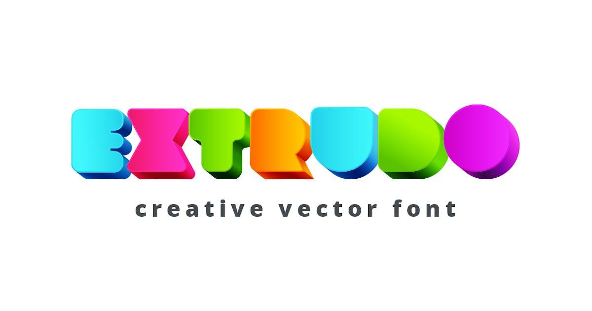 Download Extrudo Font by Sentavio