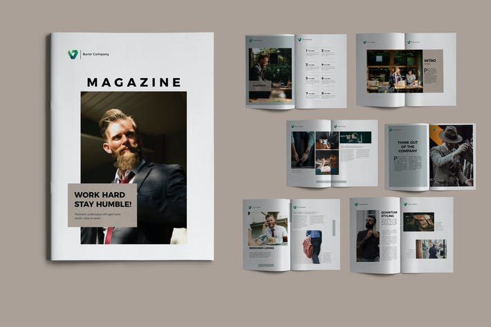 Thumbnail for BURST - Broschüre Unternehmens-