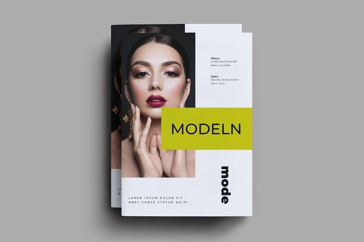 Thumbnail for Modeln Brochure Template
