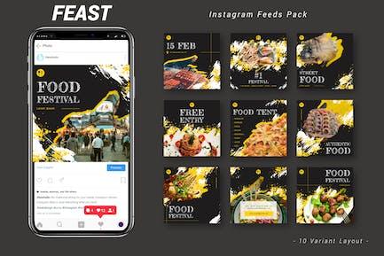 Feast - Instagram Feeds Pack