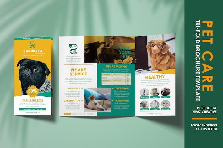 Thumbnail for Pet Care Trifold Brochure