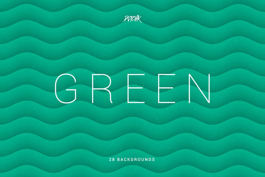 Green   Soft Abstract Wavy Backgrounds