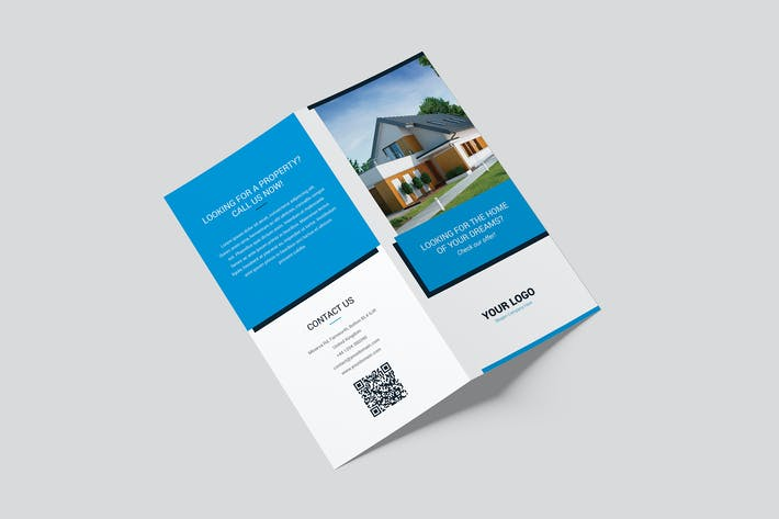 Thumbnail for Brochure – Real Estate Bi-Fold DL